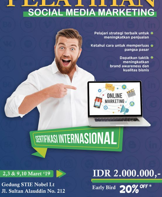 Pelatihan Sosial Media Marketing