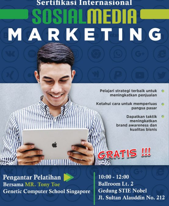 Pengantar Pelatihan Sosial media Marketing